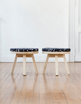 banco mesa con almohadon kom