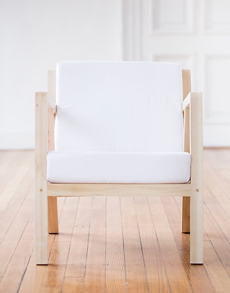 sillon nordico blanco