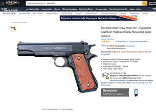 Plan Beta Airsoft sold at Amazon Europe