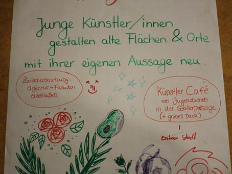 Junge Künstler*innen in Jena Nord