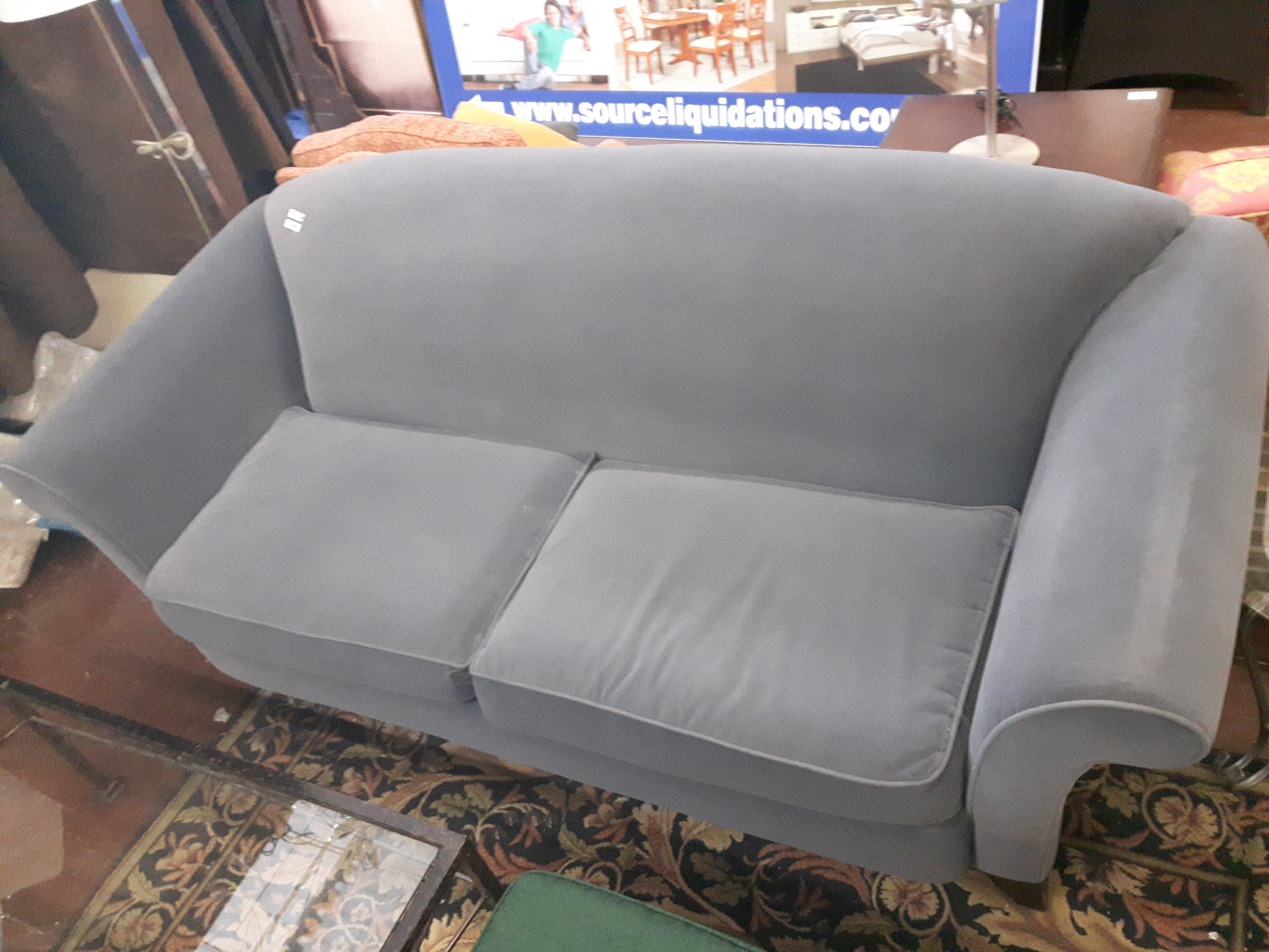 Gray Sofa Set 731030