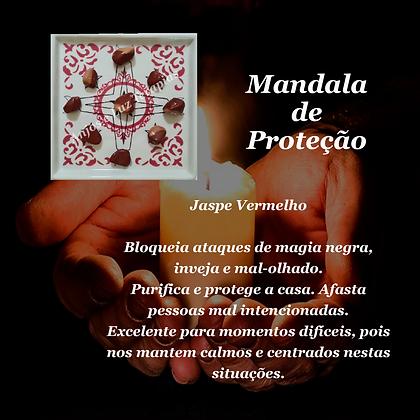 Mandala de Cristais para Proteção