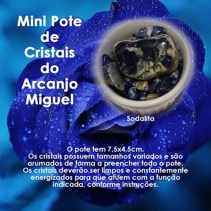 Mini Pote do Arcanjo Miguel