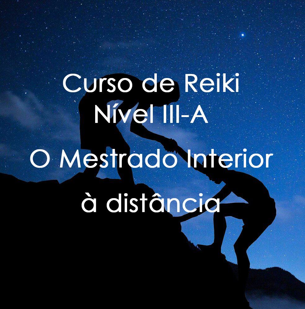 Reiki - Nível 3A (à distância)