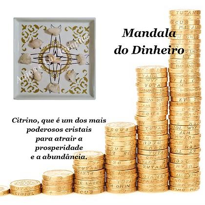 Mandala de Cristais para Atrair Dinheiro