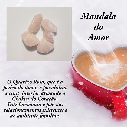 Mandala de Cristais para o Amor