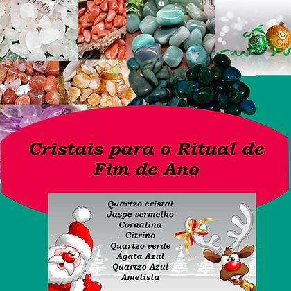 Cristais para Ritual do Fim de Ano