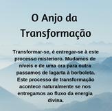 O Anjo da Transformação