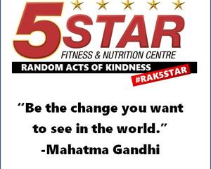 5 Star Random Act of Kindness