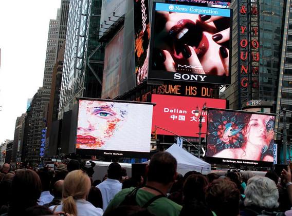 Flavio Galvan Time Square