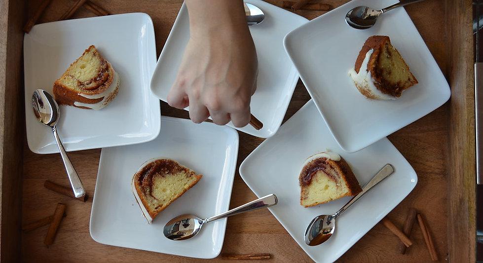 Guava and Cream Cheese Cake at Casa Gioia
