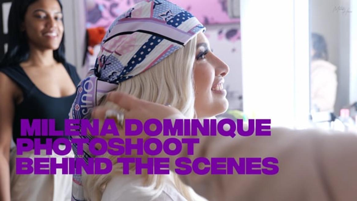 Milena Dominique BTS