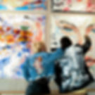 Wynwood Restaurant art Wall Giache Crepes