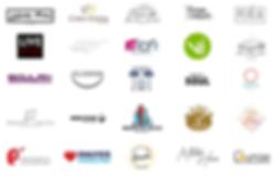 Logos of Kontralab's Client List