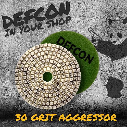 DEFCON AGGRESSOR - 30 GRIT METAL-FLEX