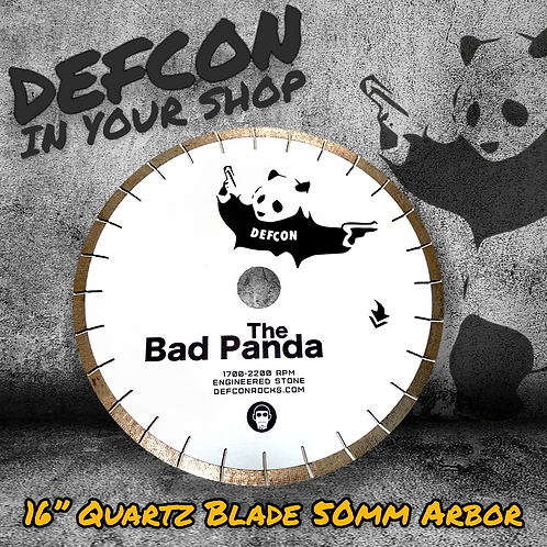 "16"" BAD PANDA QUARTZ & MORE BLADE"