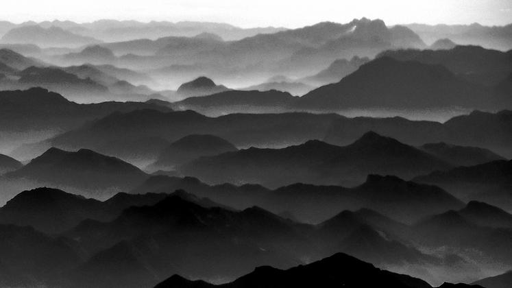 cadeia de montanhas