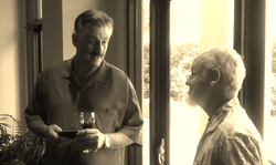 ROLLIE FINGERS (left)