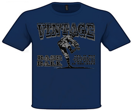 Vintage Base Ball Rules T-Shirt