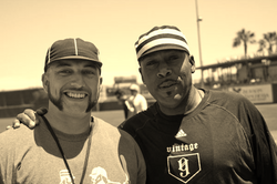 KEVIN MITCHELL (right)