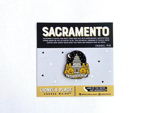 Sacramento Capitol Enamel Pin