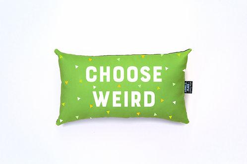 Limeade Choose Weird® Pillow