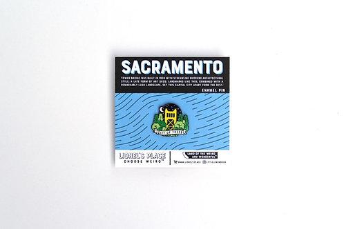 Sacramento Enamel Pin