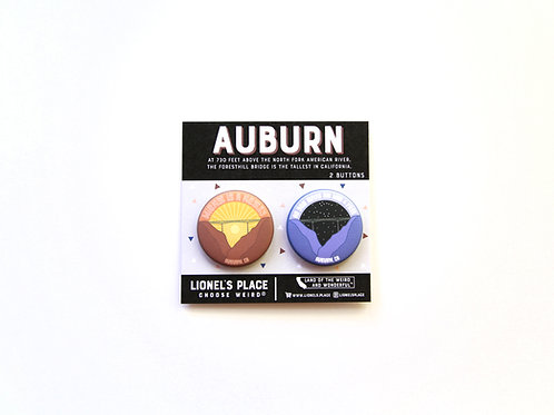 Auburn Button Pack