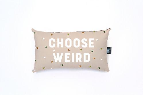Sandstorm Choose Weird® Pillow