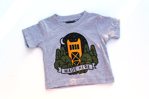 Sacramento Made Here T-Shirt (Infant and Toddler)
