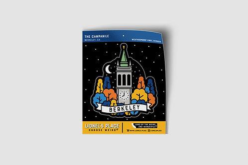 Campanile Berkeley Sticker