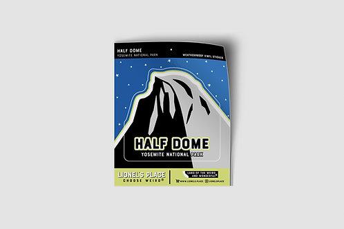 Half Dome Yosemite Sticker