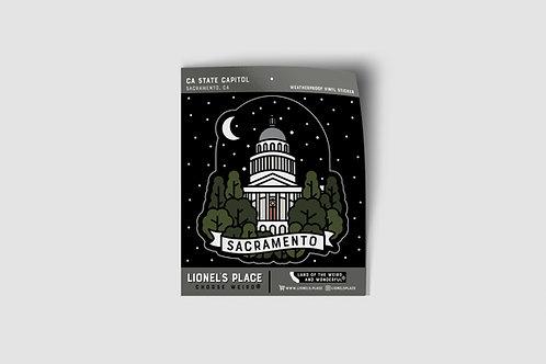 Sacramento / CA Capitol Sticker