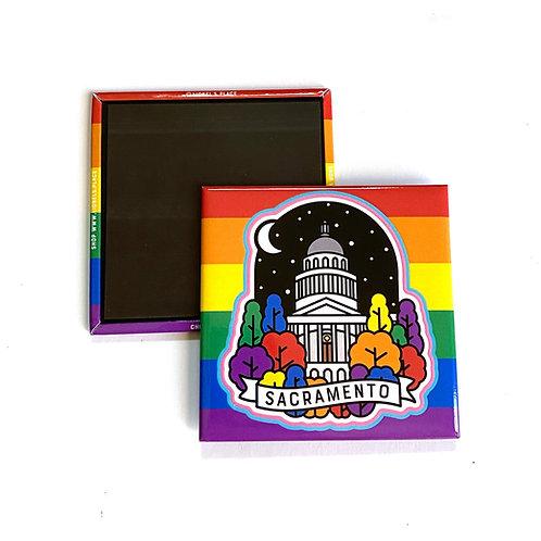 CA Capitol Magnet