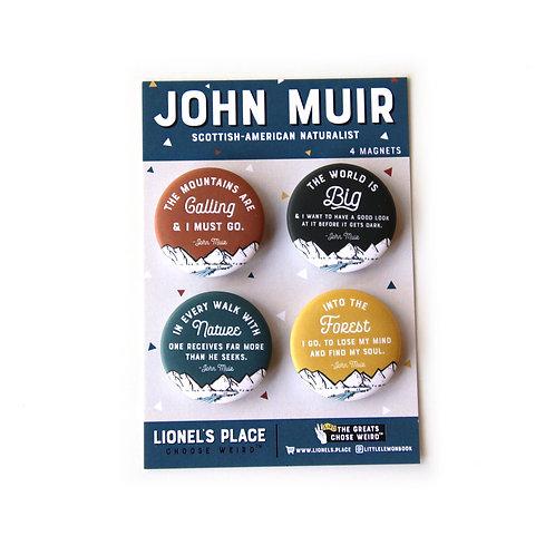 John Muir Magnet Pack