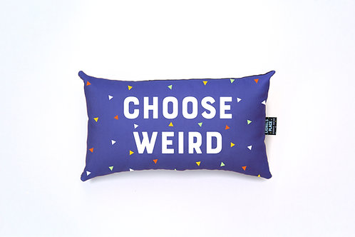 Winkleperi Choose Weird® Pillow