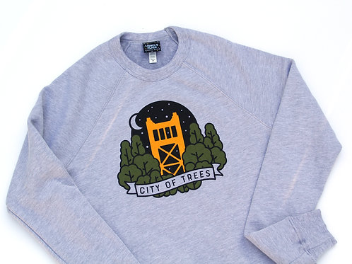 Sacramento City of Trees Sweatshirt (Unisex)