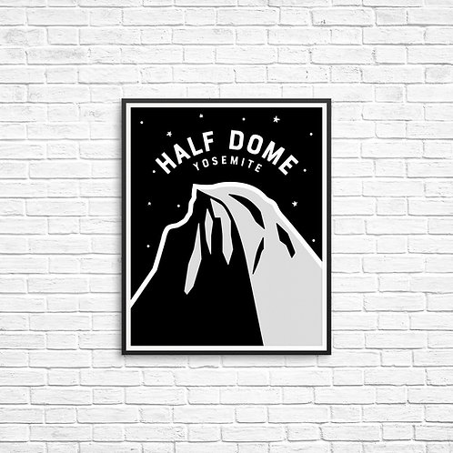 Hald Dome 8x10 Print