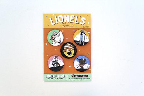 Lionel & Friends Button Pack