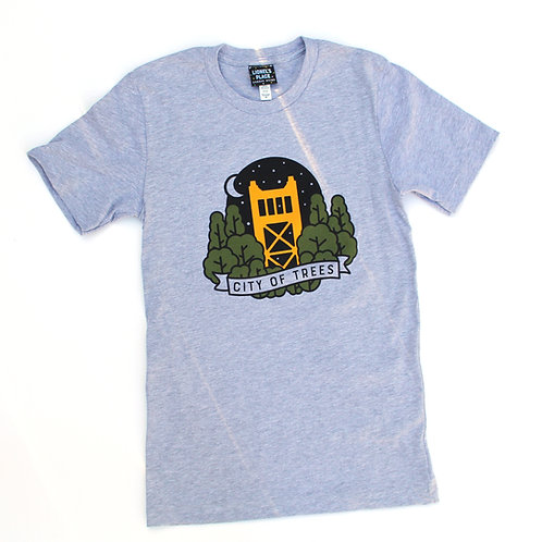 Sacramento City of Trees T-Shirt (Unisex)