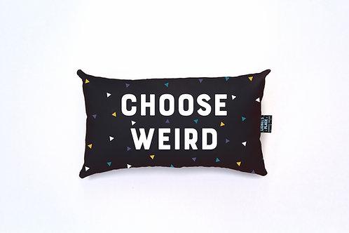 Midnight Eclipse Choose Weird® Pillow
