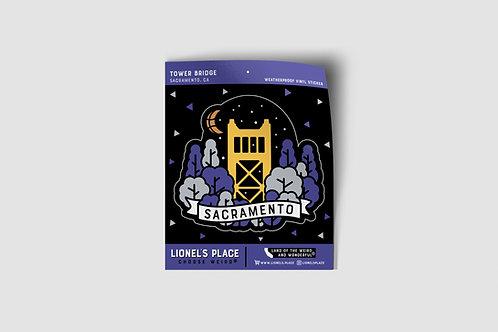 Sacramento / Tower Bridge Sticker v2