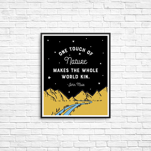 One Touch of Nature - John Muir