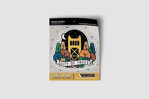 Sacramento / Tower Bridge Sticker