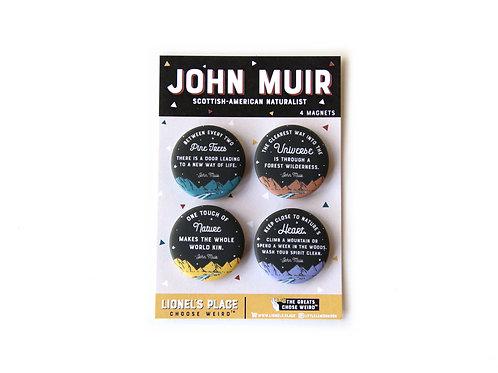 John Muir Magnet Pack v2