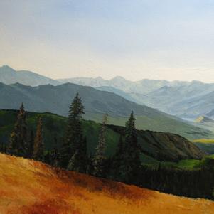 View from Strawberry Peak