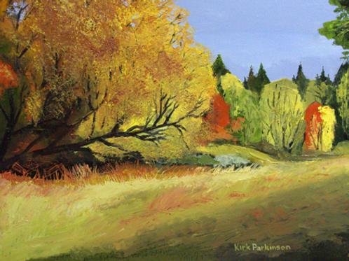 A Fall Afternoon at Hobble Creek