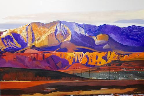 Pine Valley Mountain Sunset