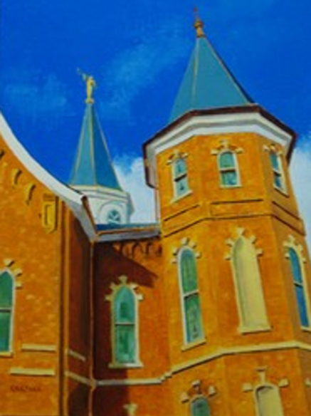 Provo Tabernacle turned Temple