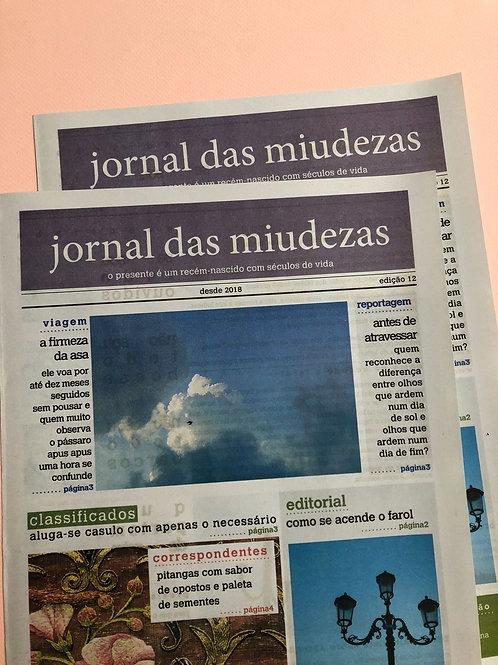 JORNAL DAS MIUDEZAS - EDIÇÃO 12